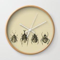 Basic Beatle Morphology Wall Clock
