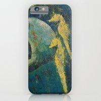 Yellow Seahorses iPhone 6 Slim Case