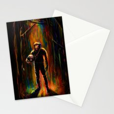 Commander Chimp Stationery Cards