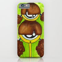 iPhone & iPod Case featuring Siamese Aliem by Tyler Resty