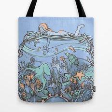What Lurks Beneath Tote Bag