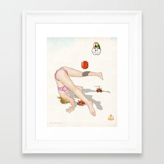 Super Mario Bros. No.1 Framed Art Print