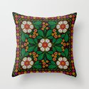 CLUSIA MARACATU Throw Pillow