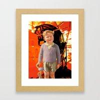 The House of Orange Framed Art Print