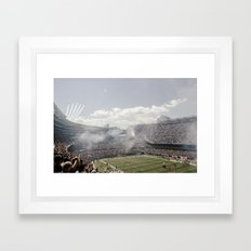 Chicago Bears - Plane Flyby Framed Art Print