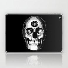 Third Eye Bones (Black and White Edition) Laptop & iPad Skin