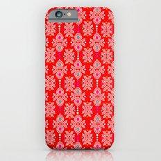 Stella in Red Pattern Slim Case iPhone 6s