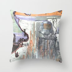 Space Voyage Throw Pillow
