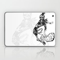 Fart Skull Flying Laptop & iPad Skin
