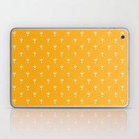Doodle Leaves Laptop & iPad Skin