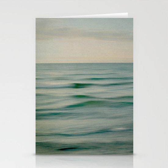 sea square V Stationery Card