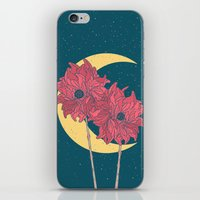 Midnight Flowers iPhone & iPod Skin