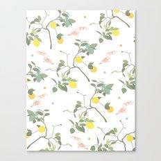 Lovely Lemons Canvas Print