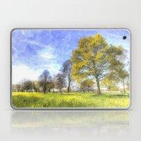 Summer Farm Trees Art Laptop & iPad Skin