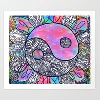 The Ying And The Yang Art Print