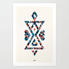 INDIAN - TIME Art Print