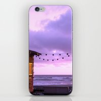 The Sunset Hut iPhone & iPod Skin
