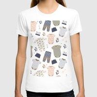 baby T-shirts featuring baby by Ceren Aksu Dikenci