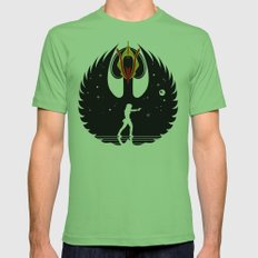Queen Swan Mens Fitted Tee Grass SMALL