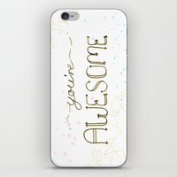 You're Awesome iPhone & iPod Skin