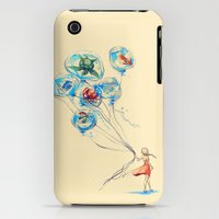 iPhone 3Gs & iPhone 3G Cases featuring Water Balloons by Alice X. Zhang