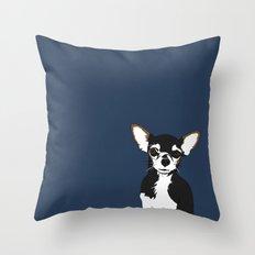 Zoe the Chihuahua Throw Pillow