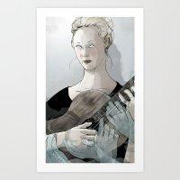 Laura Marling Art Print