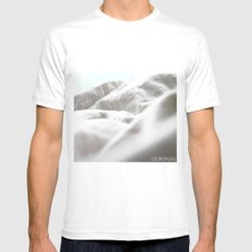 Goodmorning Mint White Mens Fitted Tee SMALL