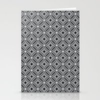 Diamonds in Smoke Stationery Cards