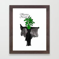 Stevia Nicks Framed Art Print