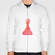 Chess Pawn Watercolor Hoody