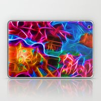 Abstract Electrified Laptop & iPad Skin