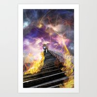 Stairs Of Revelation Art Print