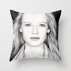 ANNA TORV - OLIVIA DUNHAM Throw Pillow