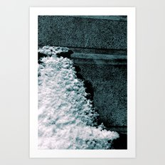 Clinging Art Print