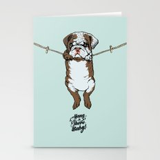 Hang In There Baby Engli… Stationery Cards