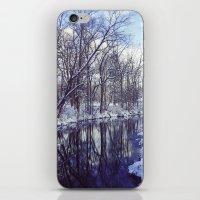 Blue Ice II iPhone & iPod Skin