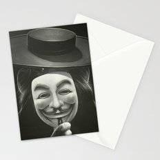 Anonymous II Stationery Cards