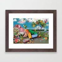 Collage 1 Framed Art Print