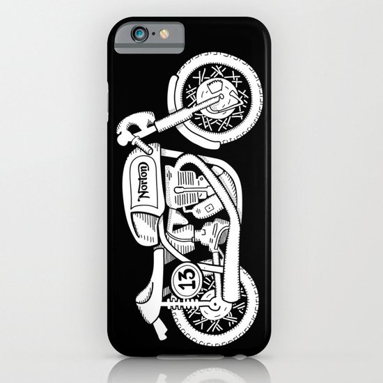 Norton Model 30 - Cafe Racer series #2 iPhone & iPod Case