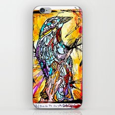 The Beautiful Bird Is The One Who Gets Caged iPhone & iPod Skin
