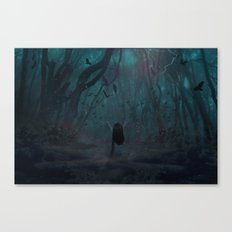 Lost In The World Of My Own Canvas Print