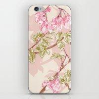 Flower Sketch iPhone & iPod Skin