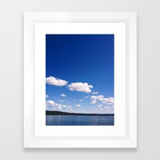 Lake Cayuga, NY Framed Art Print