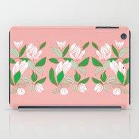 Floating Tulips iPad Case
