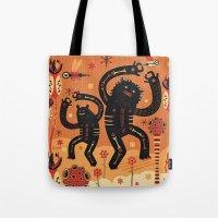 Les danses de Mars Tote Bag