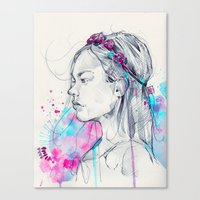Lily III Canvas Print
