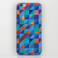 Triangles 4 iPhone & iPod Skin