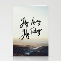 Fly Away Fly Today Stationery Cards