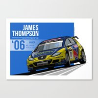 James Thompson - 2006 Monza Canvas Print